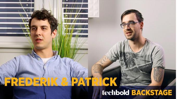 Frederik & Patrick, Support Engineers