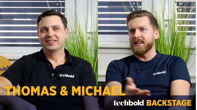 Thomas, Inside Sales & Michael, Procurement