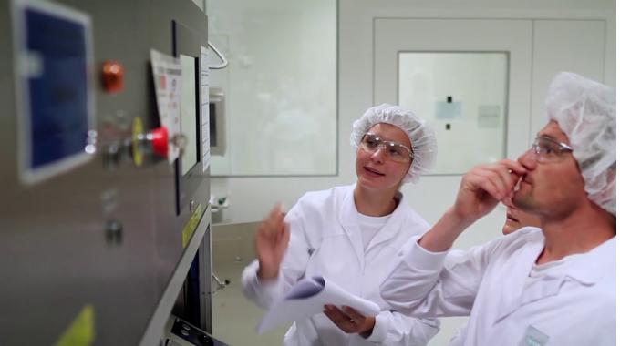 Produktion Teva Biotech