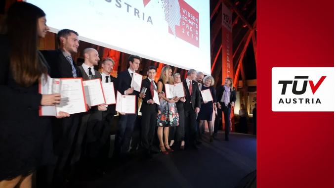 TÜV AUSTRIA Wissenschaftspreis 2019 Verleihung