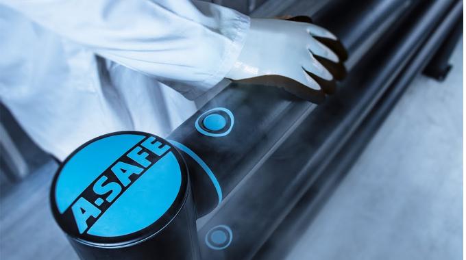 A-SAFE Lösungen für den Tiefkühlbereich