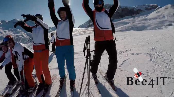 Das Clausmark Team - Ski Event 2020