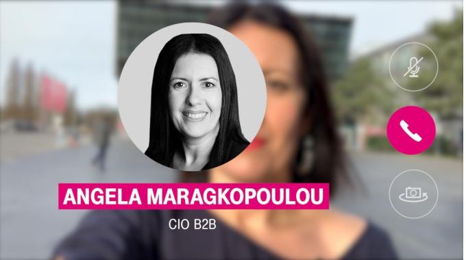 Angela Maragkopoulou #IWILLNOTSTOP