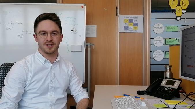 Interview mit Stefan aus dem Team des Bonitätsmanagers