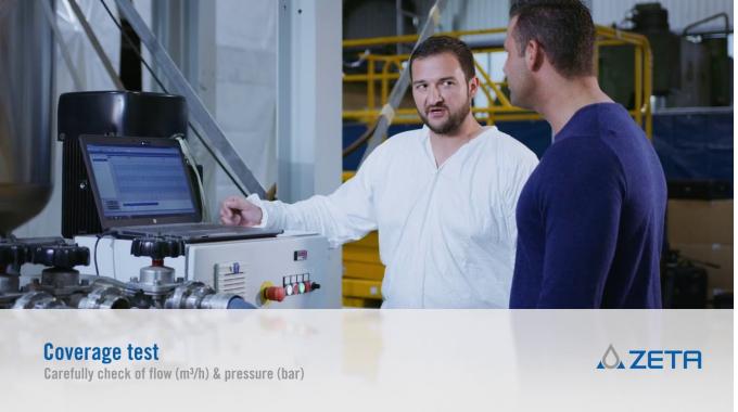 ZETA Vessel examination - Equipment FAT