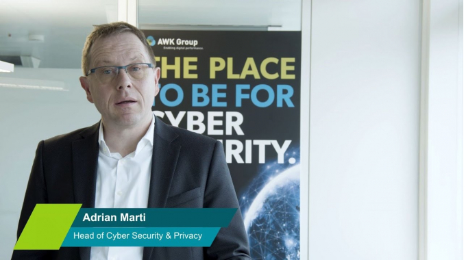 Adrian Marti Interview | Cyber Security & Privacy bei AWK