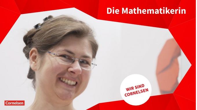 Wir sind Cornelsen: Stefanie Lang, Mathematik Redakteurin