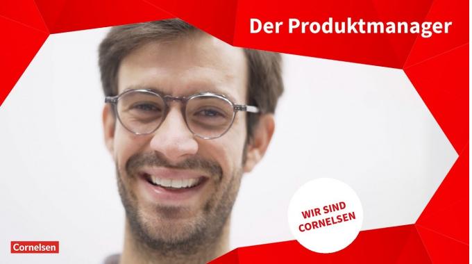 Wir sind Cornelsen: Frederik Reetz, Produktmanager Gymnasium