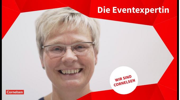 Wir sind Cornelsen: Elke Wittenborn - Leitung Messen und Events