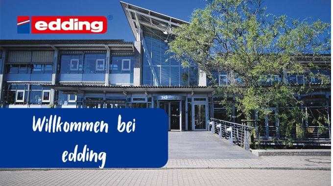 Visit at edding // Zu Besuch bei edding