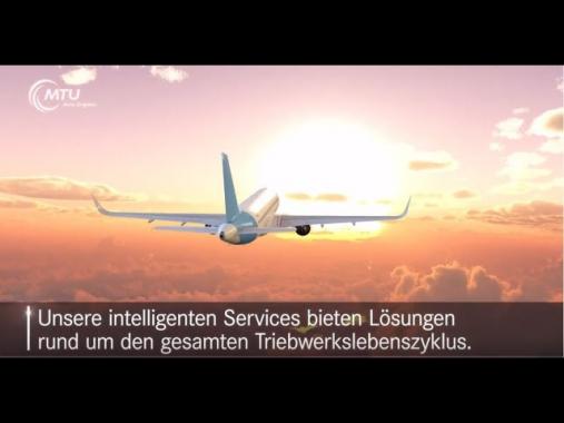 Die MTU Aero Engines in 60 Sekunden – Wir gestalten die Zukunft der Luftfahrt