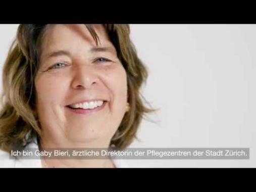 Gaby Bieri, Chefärztin Geriatrischer Dienst und ärztliche Direktorin Pflegezentren Stadt...
