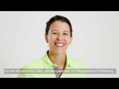 Mariana Ruiz Diaz, Abteilungsleiterin im Pflegezentrum Entlisberg