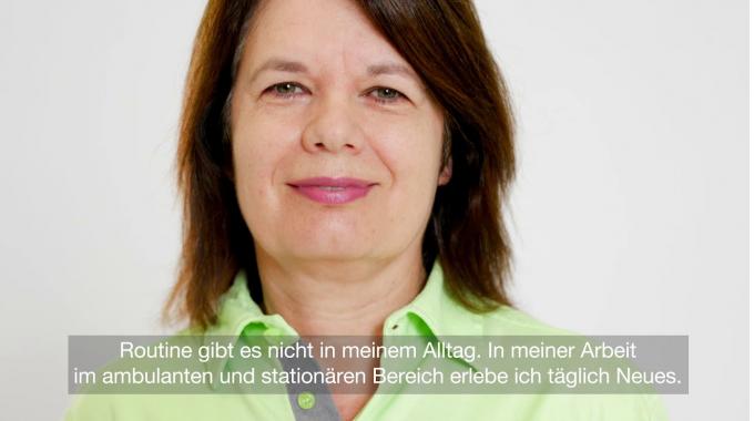 Lela Lessis, Leiterin Tageszentrum und Abteilungsleiterin im Pflegezentrum Entlisberg