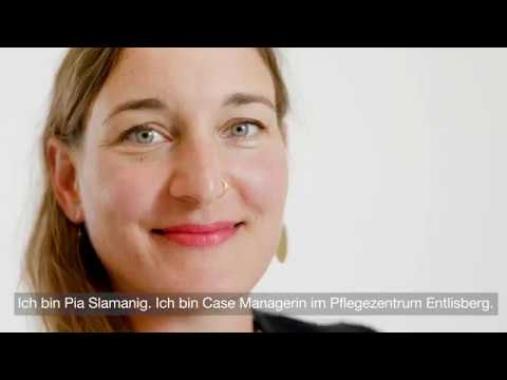 Pia Slamanig, Case Managerin im Pflegezentrum Entlisberg