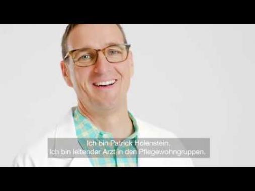 Patrick Holenstein, Leitender Arzt in den Pflegewohngruppen