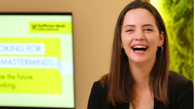 Life as a student at RBI: Benedikta