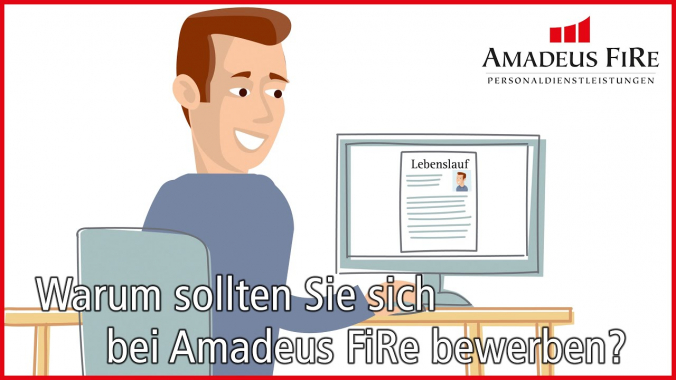 Warum sollten Sie sich bei Amadeus FiRe bewerben?