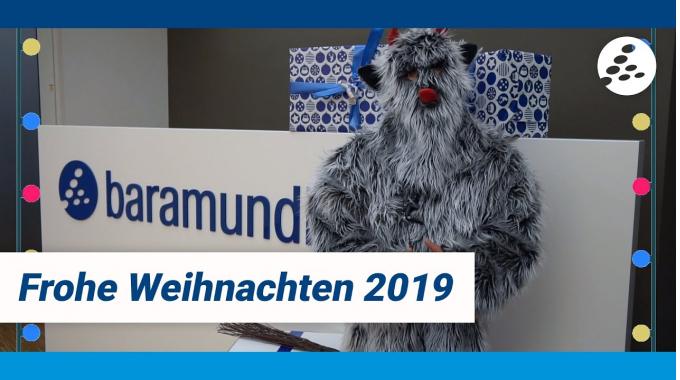 baramundi wünscht fröhliche Weihnachten 2019