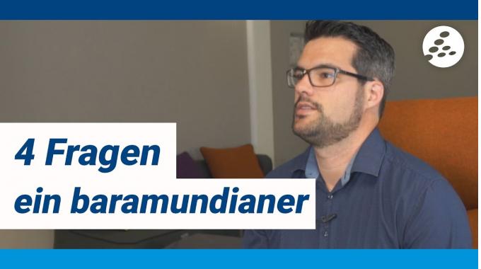 4 Fragen ein baramundianer - mit Frank, Head of Team Mac & Mobile