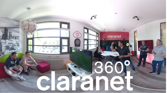 Claranet Frankfurt - 360° Office Tour