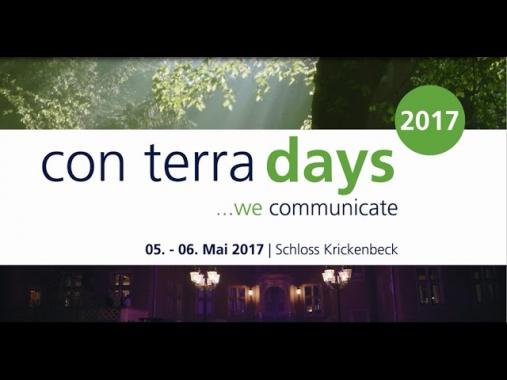 con terra days 2017 - Schloss Krickenbeck