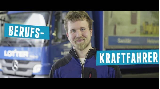 Ausbildung zum Berufskraftfahrer oder Kraftfahrzeug-Mechatroniker bei Lotter - So geht ...