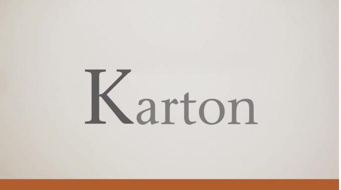 "Inapa Deutschland Papierlexikon - ""K"" wie ""Karton"""