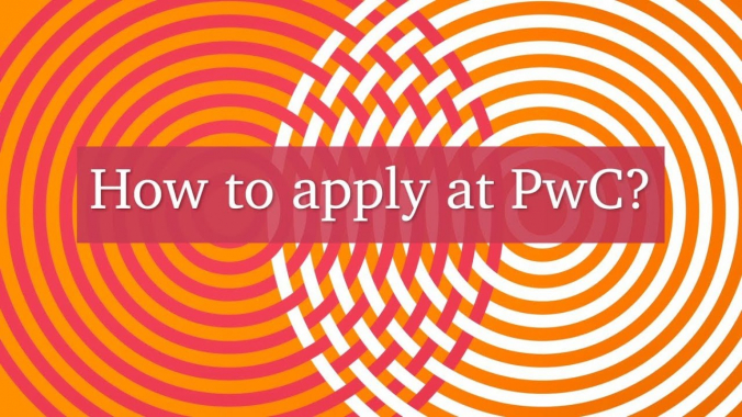 How to apply at PwC