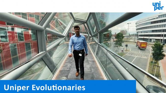 Ein Uniper Evolutionär: Hamza