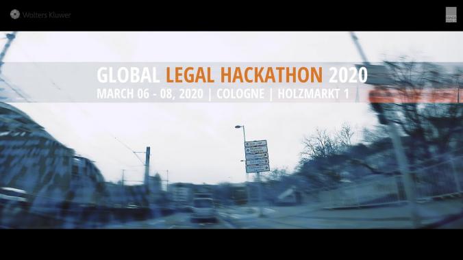 Global Legal Hackathon 2020 in Köln