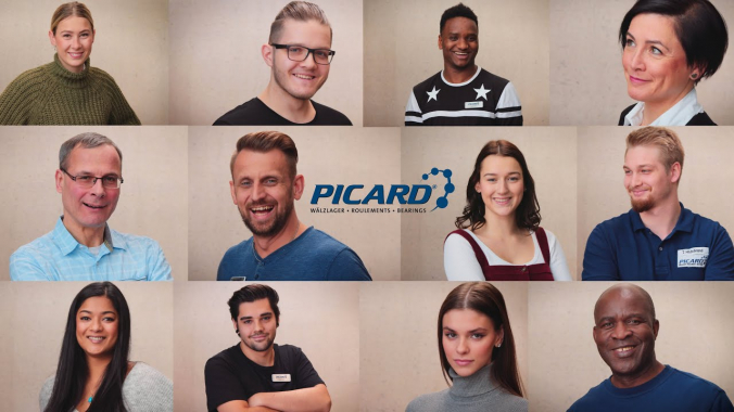 Faces of PICARD - Powerful International Company Amazing Reliable Distributor