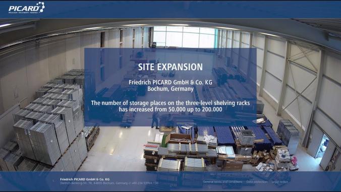 SITE EXPANSION: Friedrich PICARD GmbH & Co. KG, Bochum, Germany