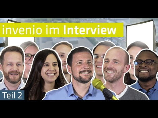 Karriere bei invenio  |  Jobs, Persönlichkeiten, Chancen (Teil 2)