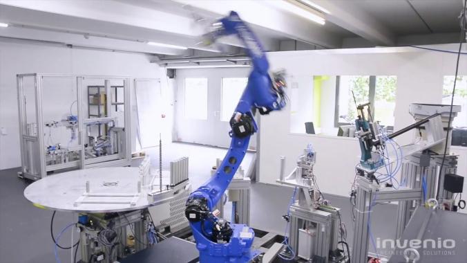 Automatisierung bei invenio