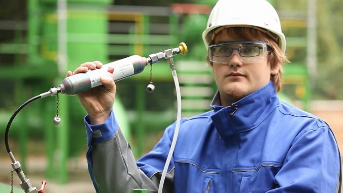 Ausbildung zum Chemielaborant/-in