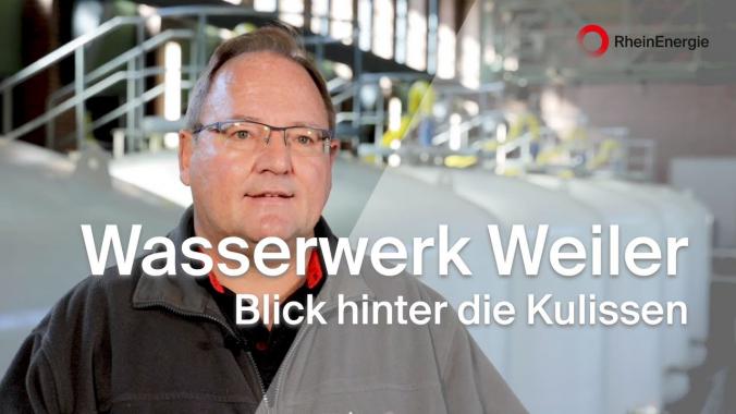 Blick hinter die Kulissen der RheinEnergie - Wasserwerk Weiler