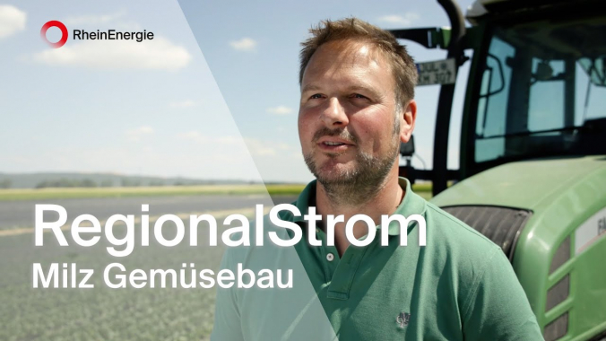 Karsten Milz, Gemüsebauer und Energieerzeuger - RegionalStrom der RheinEnergie