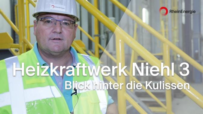 Blick hinter die Kulissen der RheinEnergie - Heizkraftwerk Niehl 3