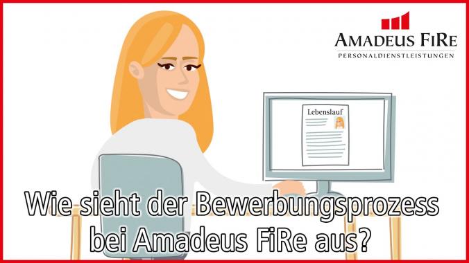 Wie sieht der Bewerbungsprozess bei Amadeus FiRe aus?