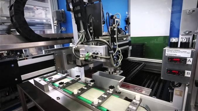 Automation an der Spritzgießmaschine