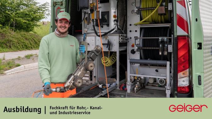 Ausbildung zur Fachkraft für Rohr-, Kanal- und Industrieservice (m/w/d)