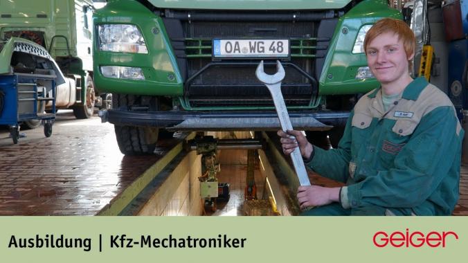 Ausbildung zum Kfz-Mechatroniker - Nutzfahrzeugtechnik (m/w/d)
