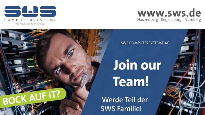 SWS Computersysteme - Junges Team sucht Verstärkung - z.B. Fachinformatiker für ...