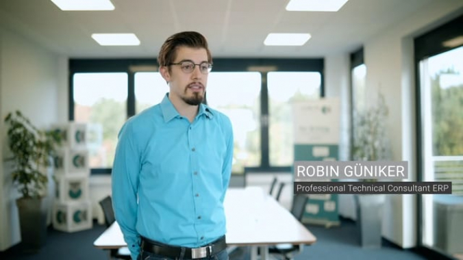 Robin Güniker - Professional Technical Consultant ERP