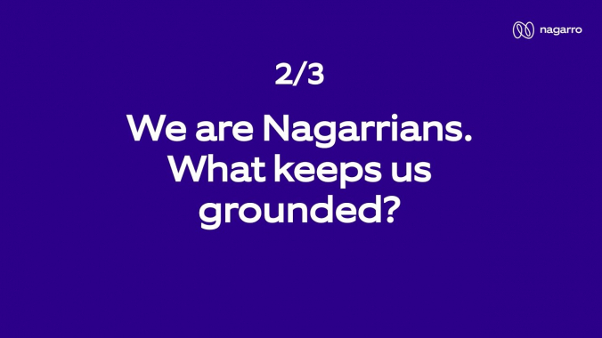 What keeps Nagarrians grounded? (Part 2/3)