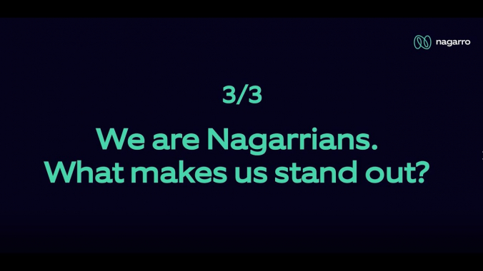 What makes Nagarrians stand out? (Part 3/3)