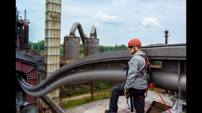 Absturzsicherung mit System von ABS Safety - Imagefilm