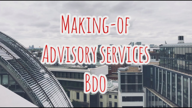 Making-of BDO Advisory Services