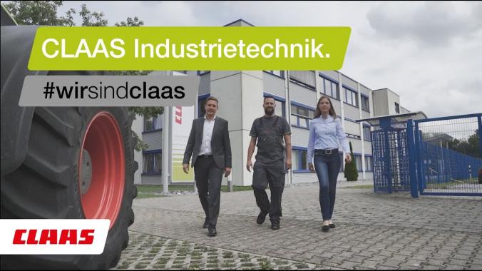 Ein Job mit Zukunft. Bei CLAAS Industrietechnik.